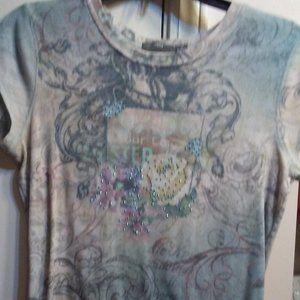 Super Cute  Apt 9 Rhinestone  T-Shirt